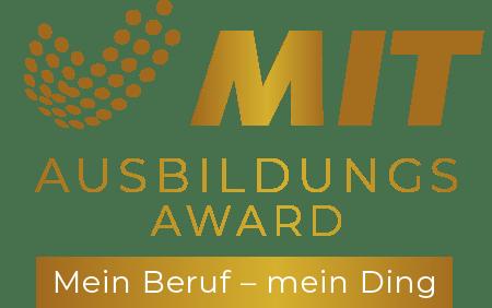MIT Ausbildungsaward Logo
